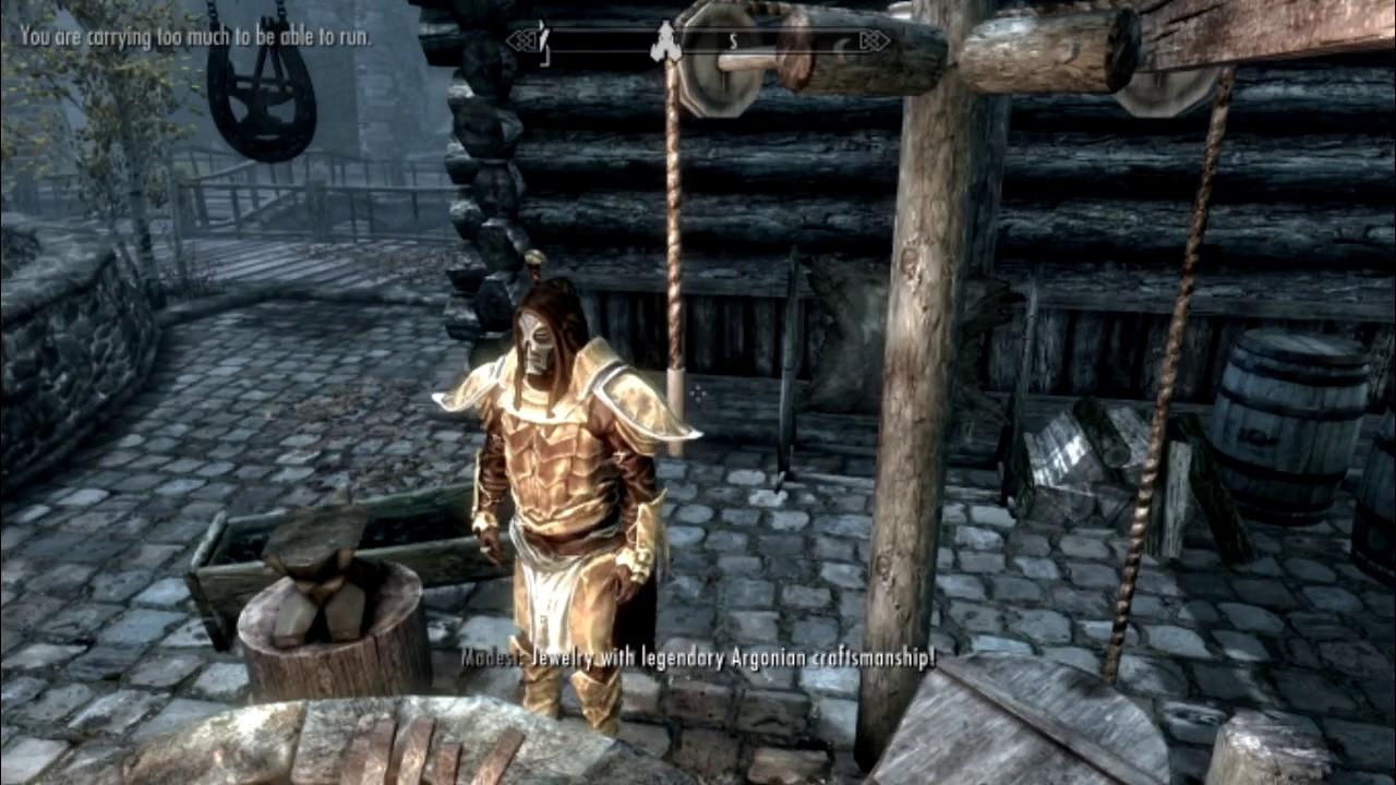 Legendary Argonian Battle Armor Youtube