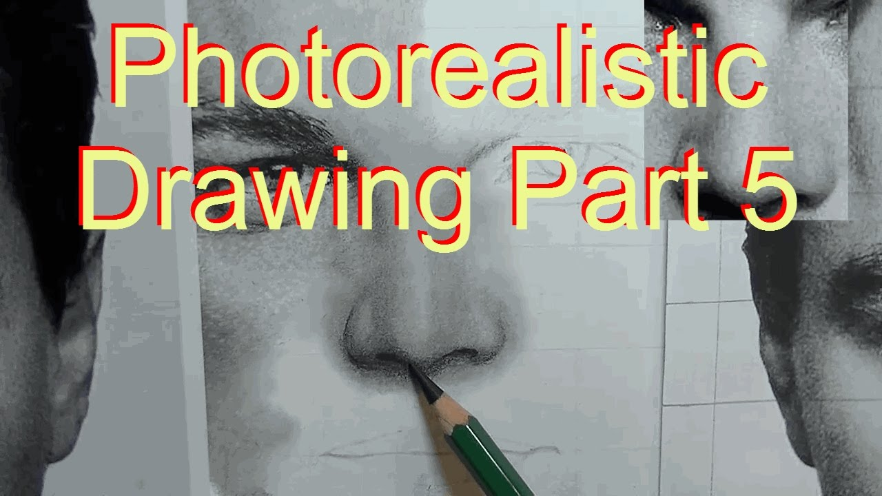 Photorealistic pencil drawing tutorial of leo part 5 how to draw photorealistic pencil drawing tutorial of leo part 5 how to draw a nose youtube ccuart Image collections