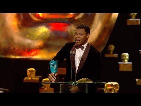 John Boyega wins Rising Star award - The British Academy Film Awards 2016 - BBC One