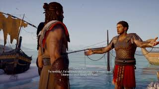 Assassin's Creed Odyssey Romance Gay Alexios & Thaletas français FR 06 - Rougir le sable