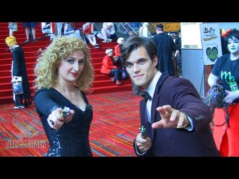 RIVER SONG and THE DOCTOR - Doctor Who Cosplays at ConnectiCon 2013