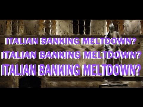 ITALIAN BANK CRISIS UPDATE