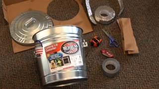 Survival Tactics: How to Build a Good Faraday Cage for Cheap Video