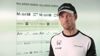 F1 2015 - McLaren Honda - Interview with Jenson Button (MP4-30 launch)