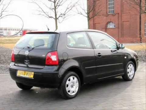 2003 VW VOLKSWAGEN POLO 1.2 S * 3 DOOR * BLACK * AIR CON - The Car Warehouse, Middlesbrough