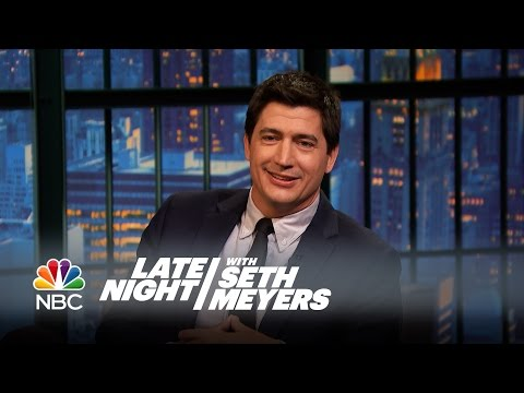Ken Marino's Kids Have Picked Up His Inappropriate Catchphrase  Late Night with Seth Meyers