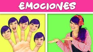 Aprender Emociones Cancion Familia de Dedos | Canciones Infantiles | Lily Fresh Songs