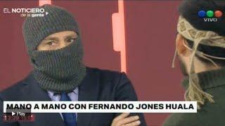 Video: Nicolás Repetto entrevistó encapuchado a Fernando Jones Huala