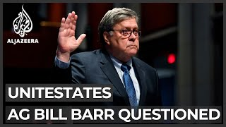 US AG Barr teĮls Congress violent US protests must be stopped