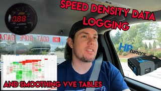 VE Data Logging and VVE Smoothing, The Speed Density Tuning Steps On HP Tuners