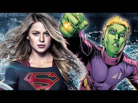 Brainiac 5 cast on Supergirl! Legion of Super-heroes confirmed!!!- Supergirl season 3