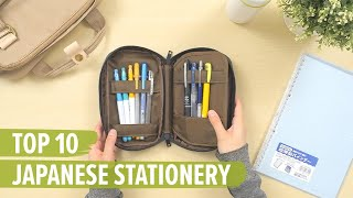 Top 10 Japanese Stationery