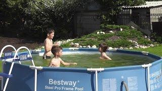 видео Детские надувные и каркасные бассейны на лето для дачи