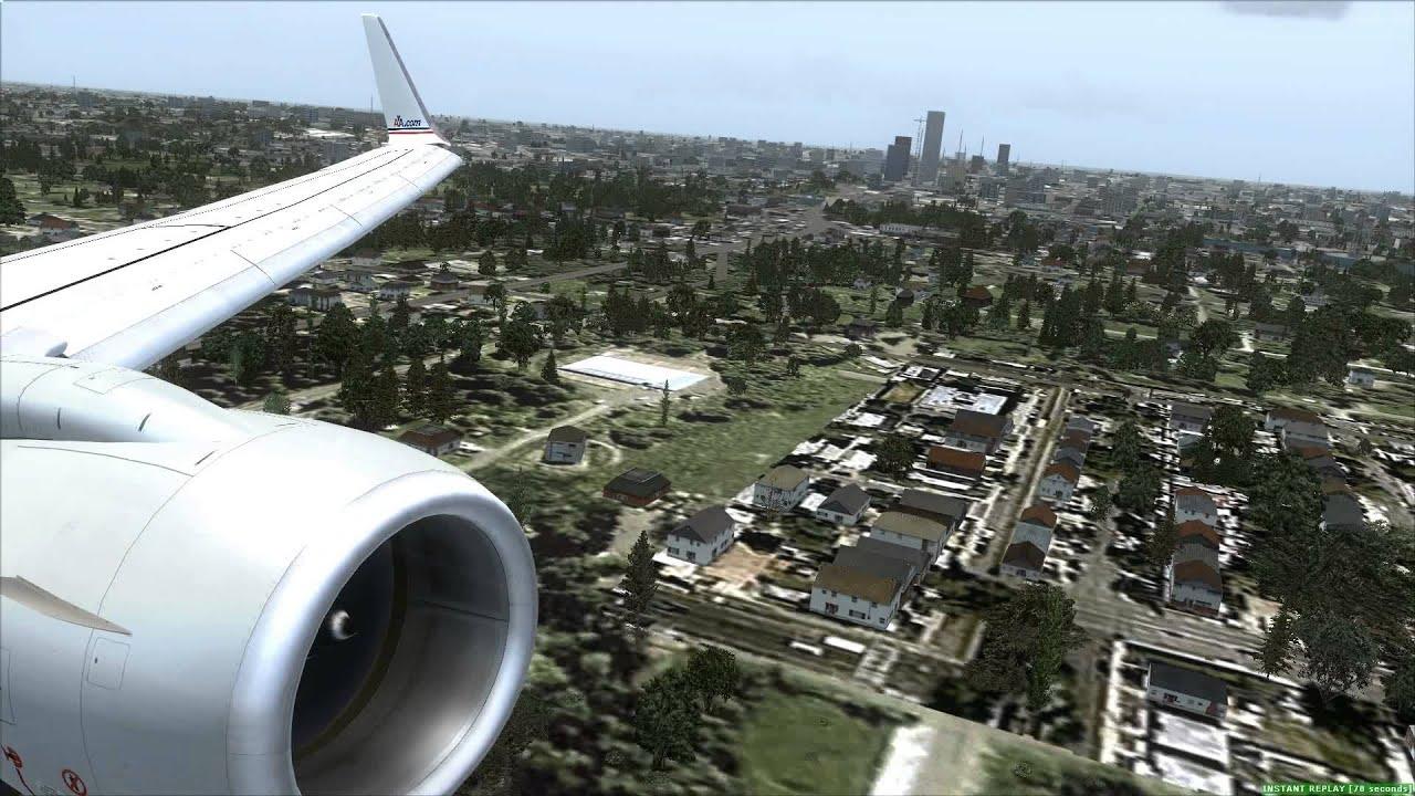 Landing At Omaha Eppley Airfield Koma American Airlines