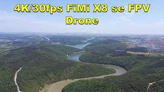 Xiaomi Fimi X8 se 4K CAMERA PERFORMANCE - First Flight FPV Drone
