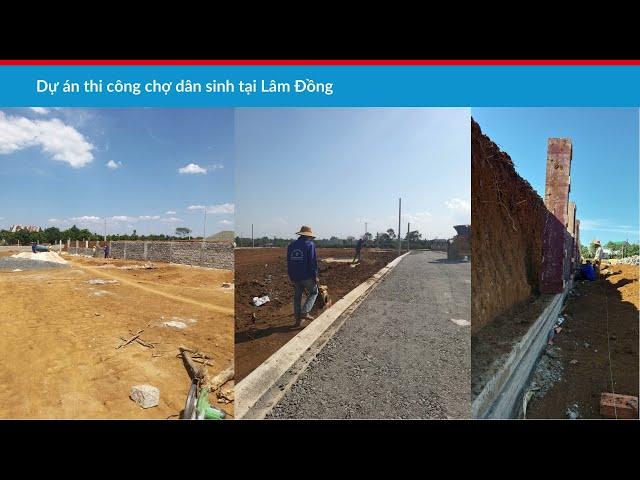 Giới thiệu dự án thiết kế thi công chợ dân sinh - Song Phát