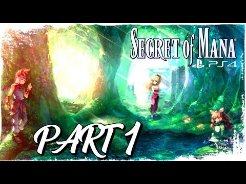 A CLASSIC REBORN!! | Secret of Mana Remake PS4 PART 1