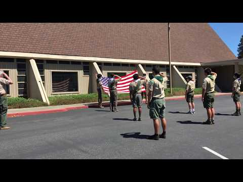 Troop 466 Flag Ceremony For Memorial Day