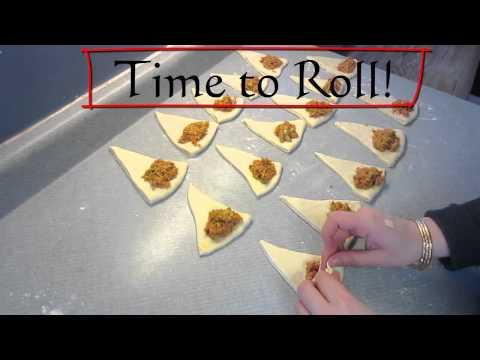 Kaak warka kleingeb ck mit mandeln tunesisch kochen for Slatet blankit