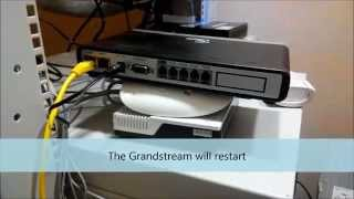 How To Reset Grandstream 4004 Using LAN Port