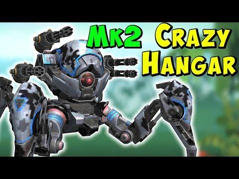 Crazy Setups Hangar  - War Robots Mk2 Variety Stream WR