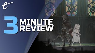 ENDER LILIES: Quietus of the Knights | Review in 3 Minutes (Video Game Video Review)