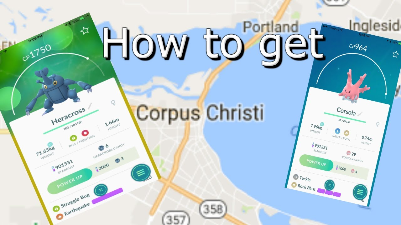 Heracross Florida Map.How To Get Heracross And Corsola In Pokemon Go Youtube