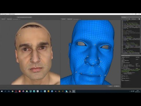 WrapX - 3D Scan Head Retopology - Fast Way to Keep Clean Edge Flow for Facial Animation
