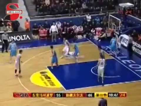 DongGuan Leopards vs. Xinjiang Flying Tigers 12-25-11 Game Recap