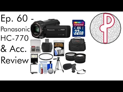 PTS Ep. 60 - Panasonic HC-V770 & Accessories Review