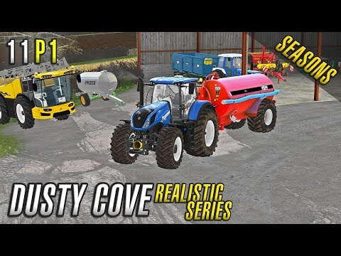 Realistic Farming Simulator 17 | Dusty Cove | Day Eleven Part 1