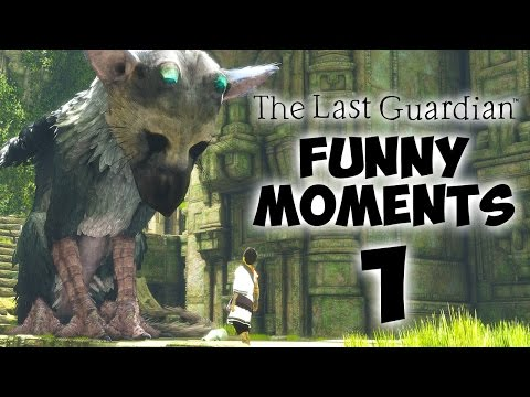 THE MOST ADORABLE GAME - The Last Guardian FUNNY MOMENTS #1