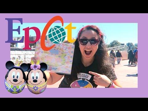 Disney World Epcot Easter Egg Hunt 2017