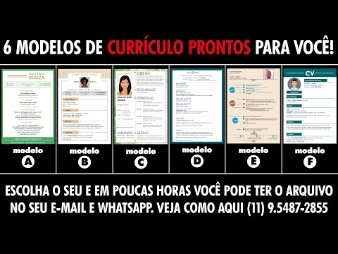 Como Criar curriculum no Word from YouTube · Duration:  5 minutes 13 seconds