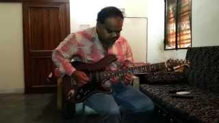 Aise Na Mujhe Tum Dekho -- Guitar Cover/Guitar Tabs-- Instrumental