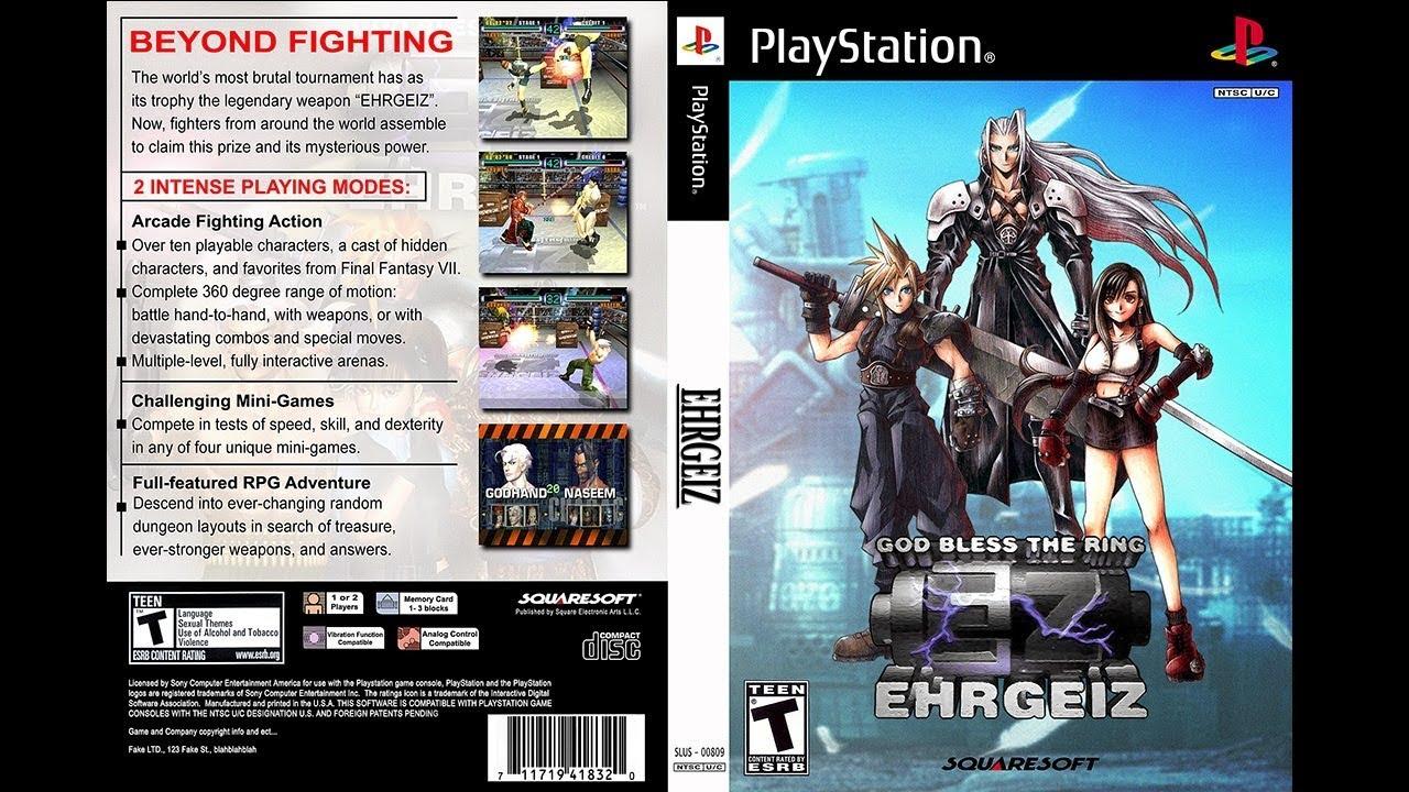 PS20   EHRGEIZ GOD BLESS THE RING   YouTube