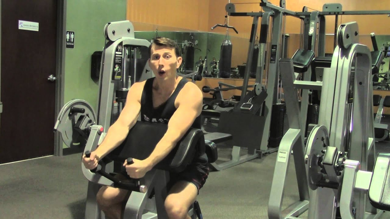 tricep machine workouts