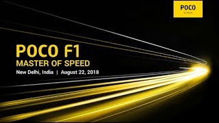 Xiaomi POCO F1 Live Launch - Budget beast