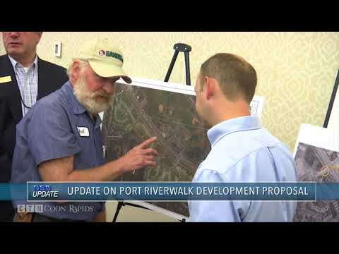 City Council Gets Update on Port Riverwalk Redevelopment Plans