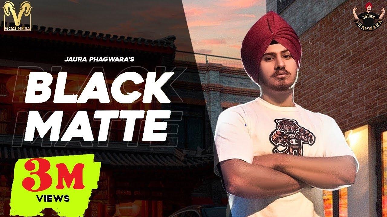 Download Black Matte : Jaura Phagwara (Official Video) Enzo | Latest Punjabi Songs 2021 | Goat Media