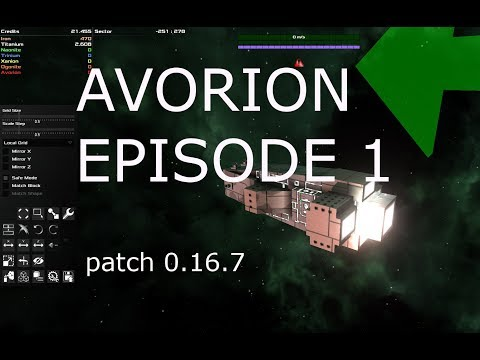 AVORION EP 1.  patch 0.16.7