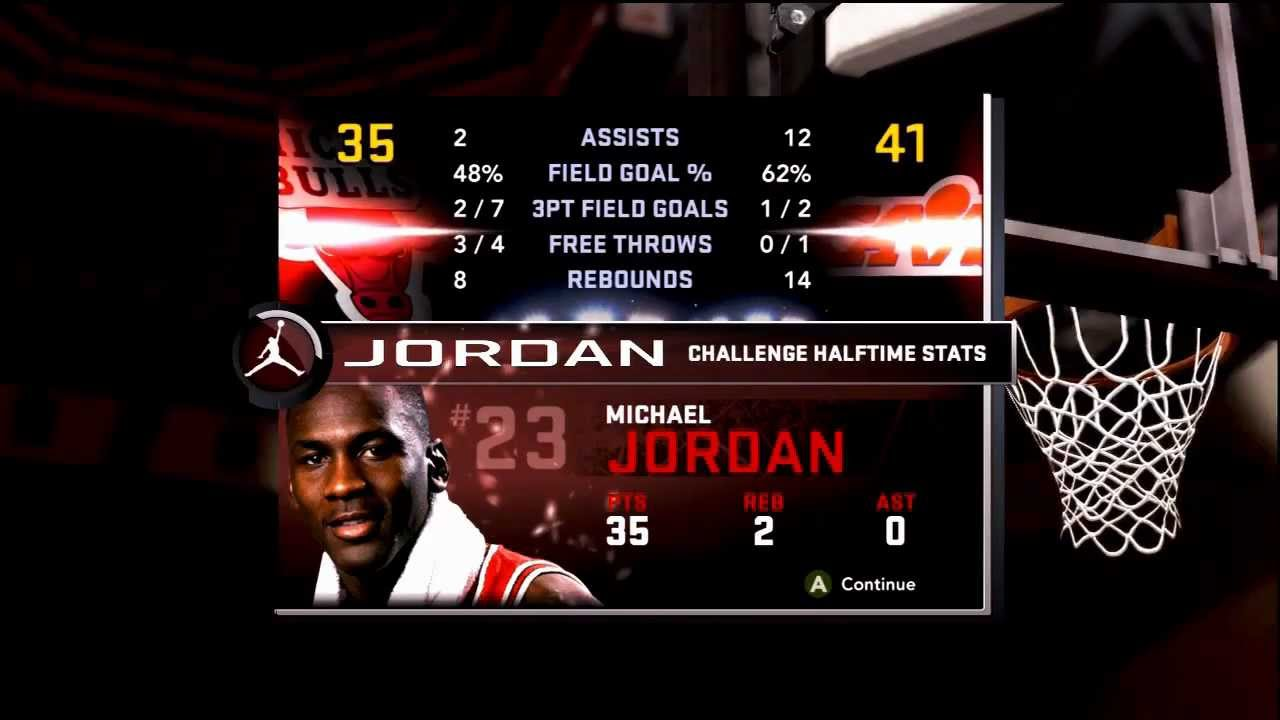 Nba 2k11 Michael Jordan Challenge Hof 69pts Vs