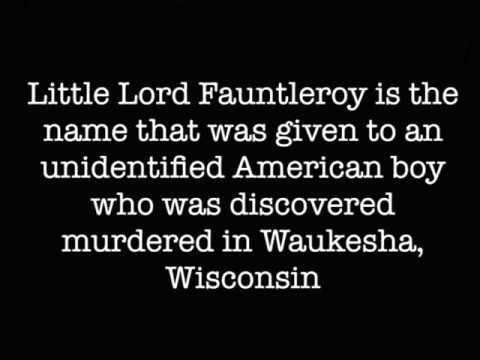 The Story Of Little Lord Fauntleroy