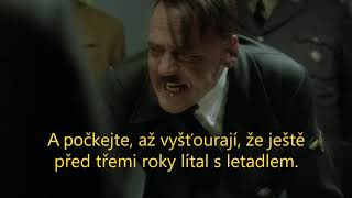 Hitler se dozvídá o nalezení syna Andreje Babiše