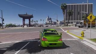 Subaru WRX mod Gta V