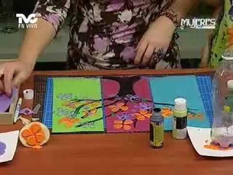 C mo hacer cuadros decorativos para tu casa 2a parte - Hacer cuadros decorativos ...