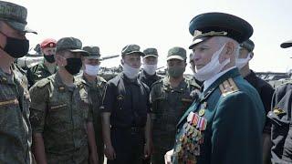 В Воронеже устроили персональный парад для ветерана Великой Отечественной войны.