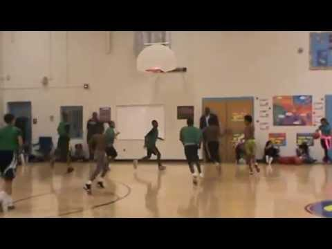 Judson Lincoln, IV Basketball Tryouts Wilde Lake Middle School 10.5.15