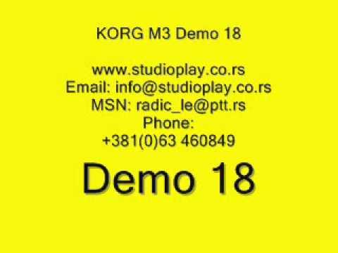 korg m3 radic