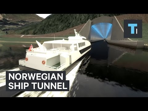 Norway is planning to build a tunnel just for ships